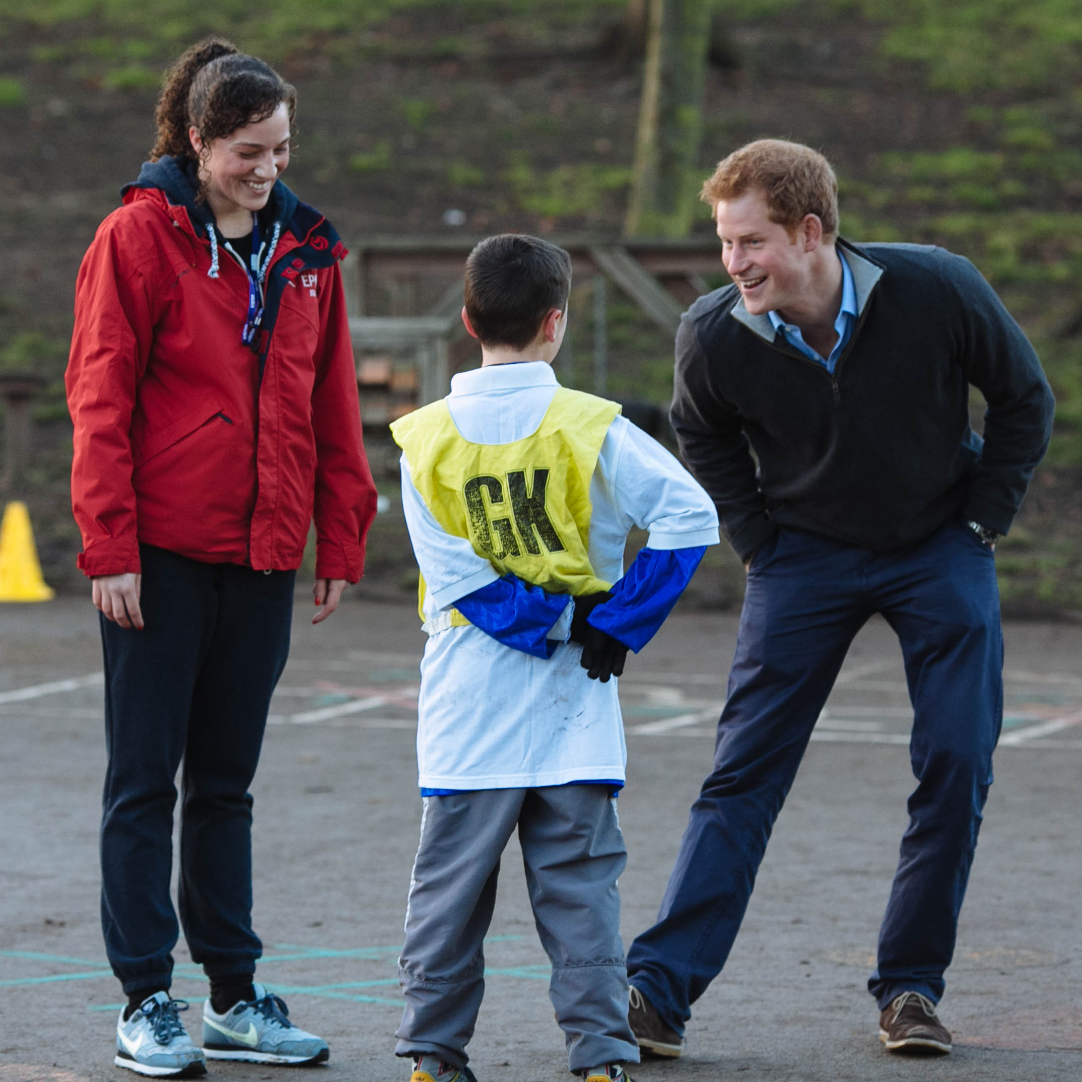 Prince Harry football